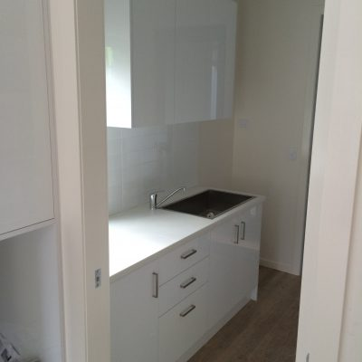 white laundry cabinets