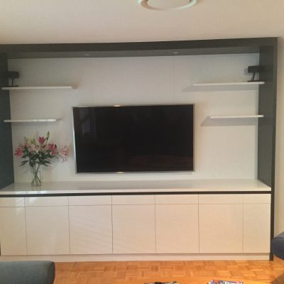 custom tv unit