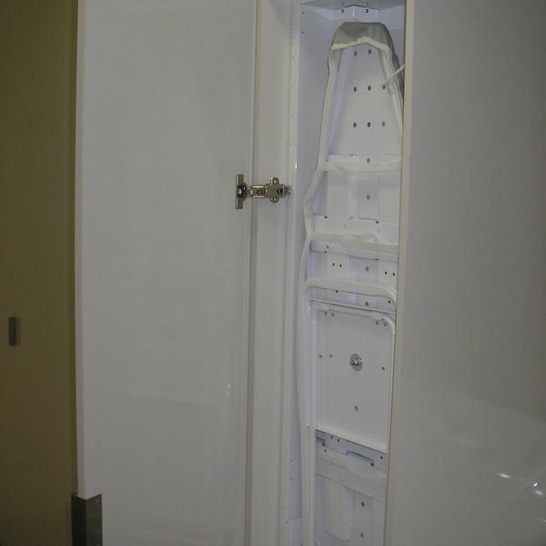 Ironing board cabinet